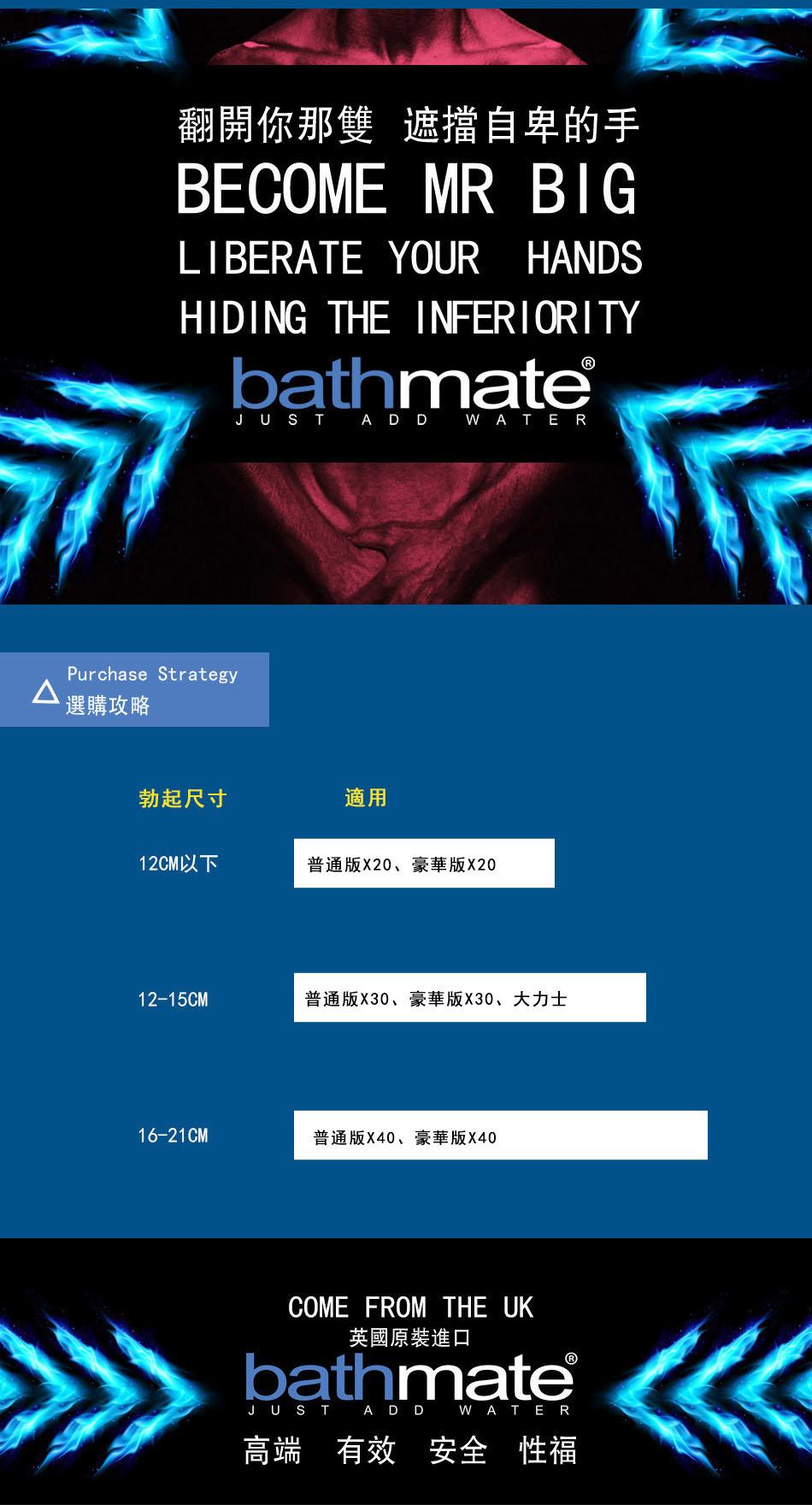Bathmate Xtreme X40增大器 陰莖增大器